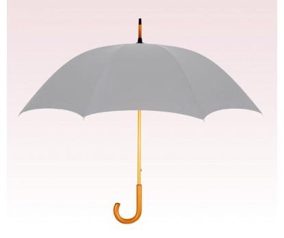 Personalized Gray 48 inch Arc Commuter Fashion Umbrellas
