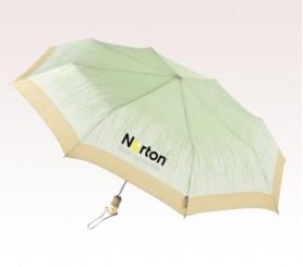 Personalized Grass Green 44 inch Arc Totes Eco brella Auto Open/Close Umbrellas