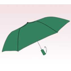 Personalized Hunter Green 42 inch Arc Windproof Vented Auto-Open Folding Umbrellas