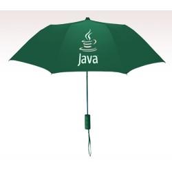 Personalized Hunter Green 42 inch arc 2351MM Revolutions Umbrellas