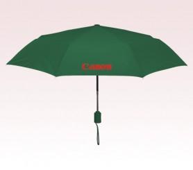 Personalized Hunter Green 43 inch Arc Executive Mini Fold Umbrellas