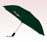 Personalized Hunter Green 43 inchWind Logo Imprinted Umbrellas
