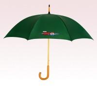 Personalized Hunter Green 48 inch Arc Commuter Fashion Umbrellas
