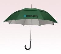 Personalized Hunter Green 48 inch Arc UVdefyer Umbrellas