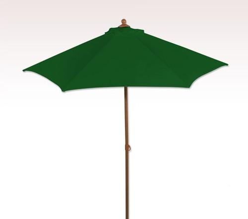 Aluminum 6 ft 6 Panel Custom Market Umbrella w/ 5 Colors