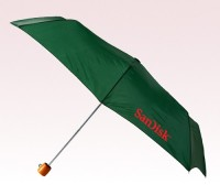 Personalized Hunter Green 60 inch Arc Golf Umbrellas