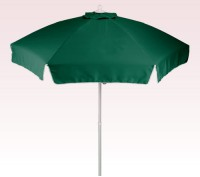 Personalized Hunter Green 7 ft Patio/Cafe Umbrellas