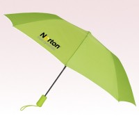 Personalized Lime Green 43 inchWind Logo Imprinted Umbrellas