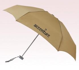 Personalized Khaki 40 inch Arc MicroMax Umbrellas