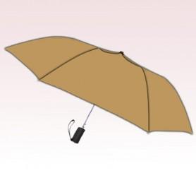 Personalized Khaki 42 inch Arc Spectrum Auto- Open Folding Umbrellas