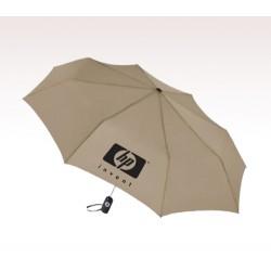 Personalized Khaki 43 inch Arc Totes Auto-Open/Close Umbrellas