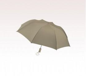 Personalized Khaki 44 inch Arc Barrister Auto-Open Folding Umbrellas