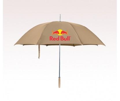 Personalized Khaki 60 inch Arc Golf Umbrellas