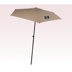 Personalized Khaki 82 Arc Vented Tropical Umbrellas