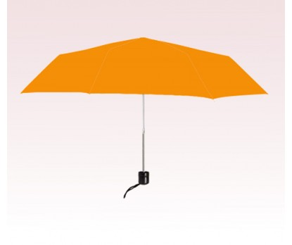 Personalized Orange 41 Arc Econo Folding Umbrellas