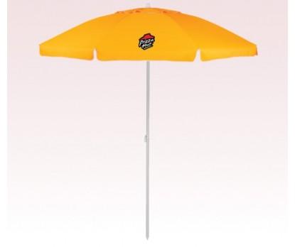 Personalized Orange 86 inch Arc Islander Umbrellas