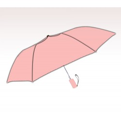 Personalized Pink 42 inch Arc Windproof Auto-Open Umbrellas