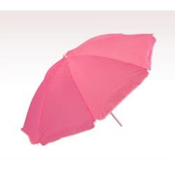 Personalized Pink 72 inch Arc Economy Beach Umbrellas