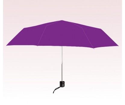 Personalized Purple 41 inch arc auto - open/close folding umbrellas