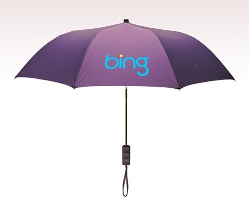 Personalized Purple 42 inch arc 2351MM Revolutions Umbrellas