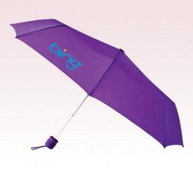 Personalized Purple 43 inch Arc Poco Umbrellas