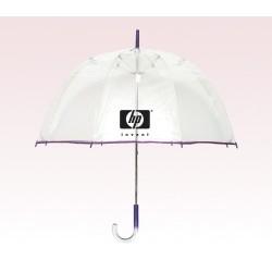 Personalized Purple 48 inch arc Bubble Lollipop Umbrellas