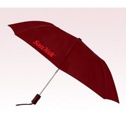 Personalized Burgundy 43 inchWind Logo Imprinted Umbrellas