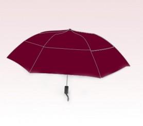 Personalized Burgundy 46 inch Arc Vented Grand Traveler Umbrellas