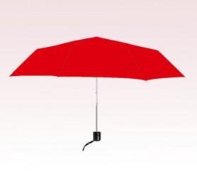 Personalized Red 41 inch Arc Econo Folding Umbrellas