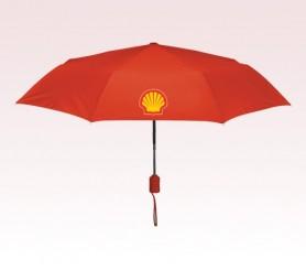 Personalized Red 43 inch Arc Executive Mini Fold Umbrellas