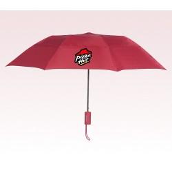 Personalized Red 43 inch Arc Raindrop Umbrellas