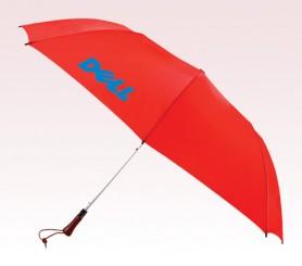 Personalized Red 60 inch Arc Auto-Open Golf Umbrellas