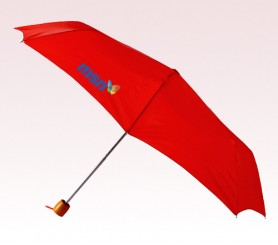 Personalized Red 60 inch Arc Storm Golf Umbrellas
