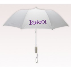 Personalized White 42 inch Arc 2351MM Revolutions Umbrellas