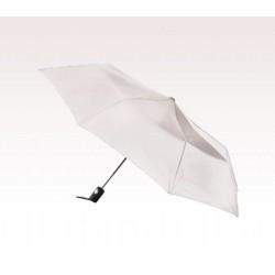 Personalized White 42 inch Arc Totes Auto- Open Folding Umbrellas