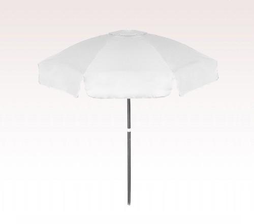 Personalized White 6 5 Ft Vinyl Patio Cafe Umbrellas