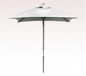 Personalized White 7 inch Wood Square Market/Patio Umbrellas