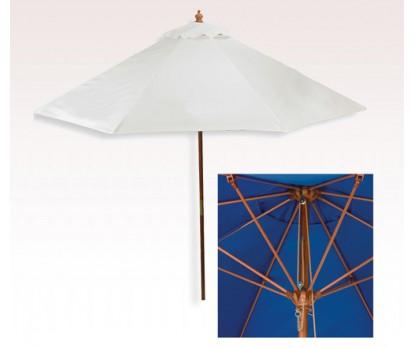 Personalized White 9 ft x 8 Panel Market Umbrellas