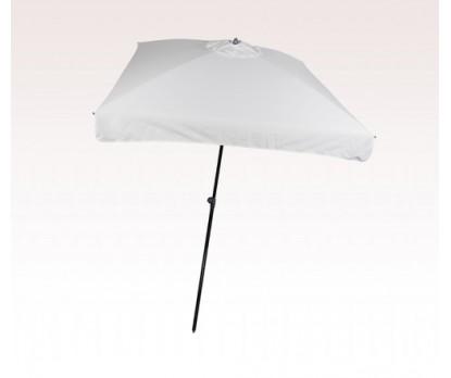 Personalized White 98 inch Arc Square Market Umbrellas