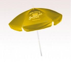 Personalized Yellow 6.5 Ft Vinyl Patio/ Cafe Umbrellas