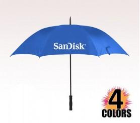 60 inch Arc Customized Logo Umbrellas w/ 4 Colors