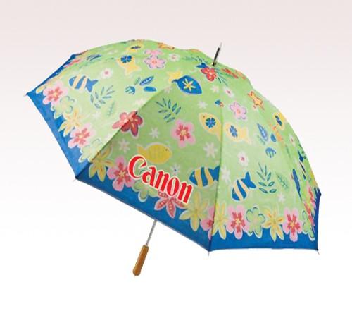 62'' Arc Beach Customized Logo Full Color Umbrellas