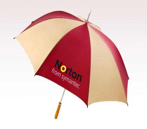 60'' Golf Customized Logo Full Color Umbrellas