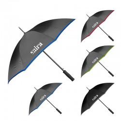 46 Inch Arc Customized Color Edge Auto Open Stick Umbrellas