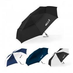 54 Inch Arc Custom Windjammer® Vented Auto Open/Close Jumbo Compact Umbrellas
