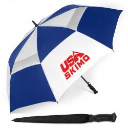 62 Inch Arc Customized Windjammer® Vented Auto Open Golf Umbrellas