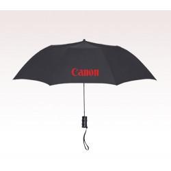 Customized 36 inch Arc Black Umbrella