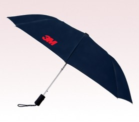 Customized 43 inch Wind Black Umbrella