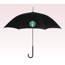 Customized 46 inch Auto Black Umbrella
