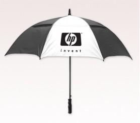 Customized 58 inch Arc Black Umbrella
